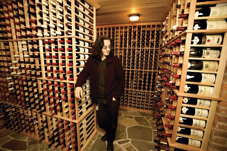 Geddy Lee and His Wine