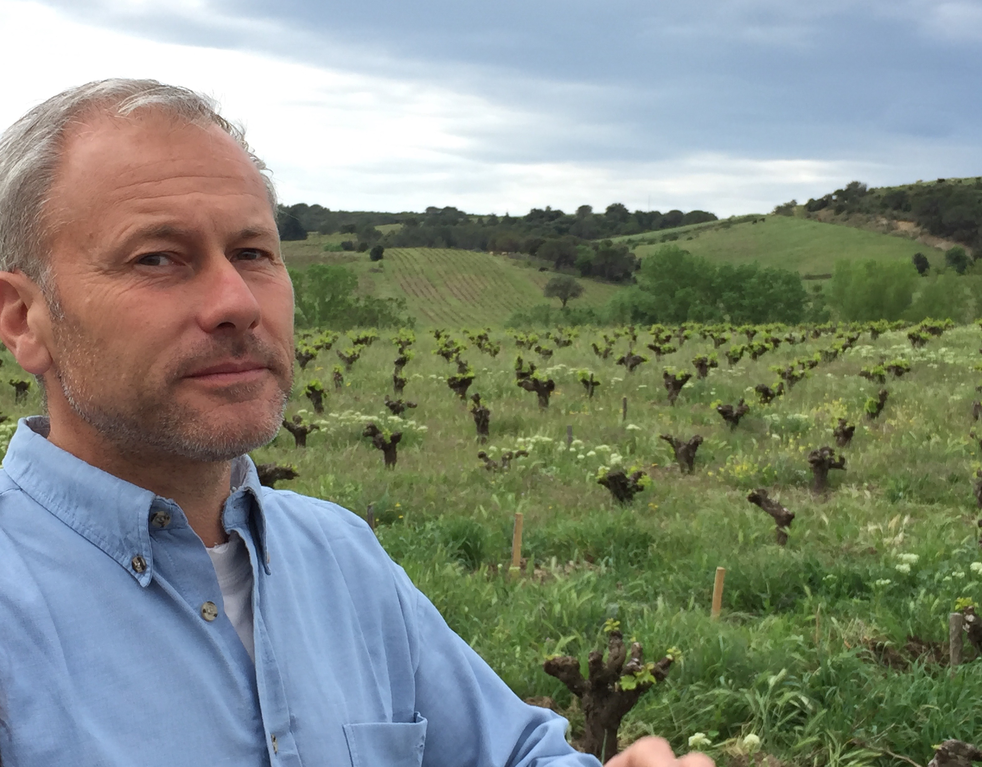 Didier Barral, winemaker and steward of the ecosystem in Faugères.